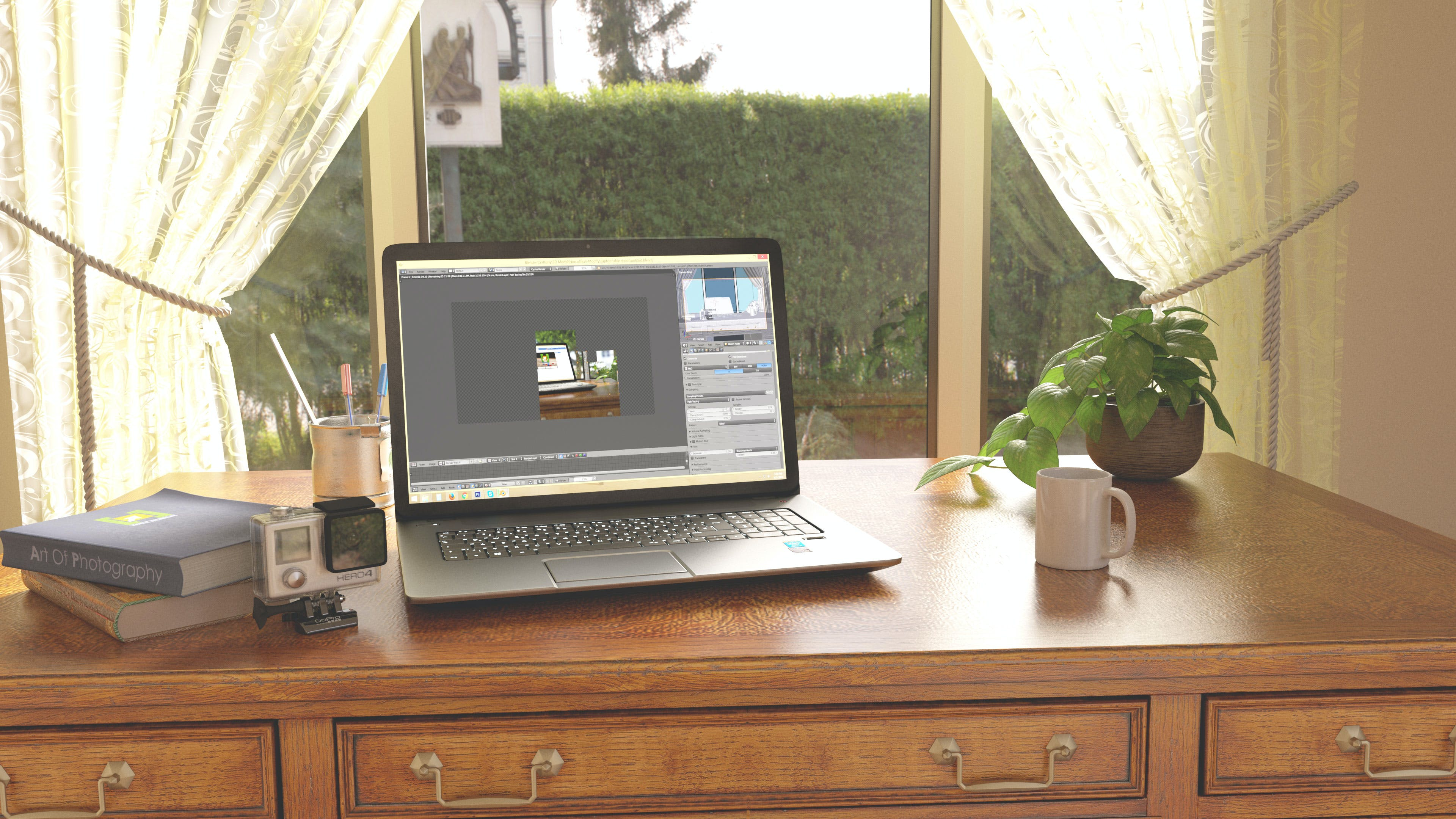Kostenloses Stock Foto zu dritte träger, guten morgen, laptop, morgen