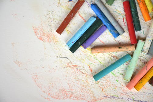 Free stock photo of chalk, color, colorful, pastel
