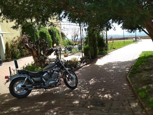 Free stock photo of moto, motorbike, vintage bicycle