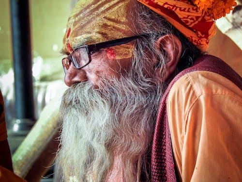 Δωρεάν στοκ φωτογραφιών με sadhu, ινδουιστής, καλόγερος