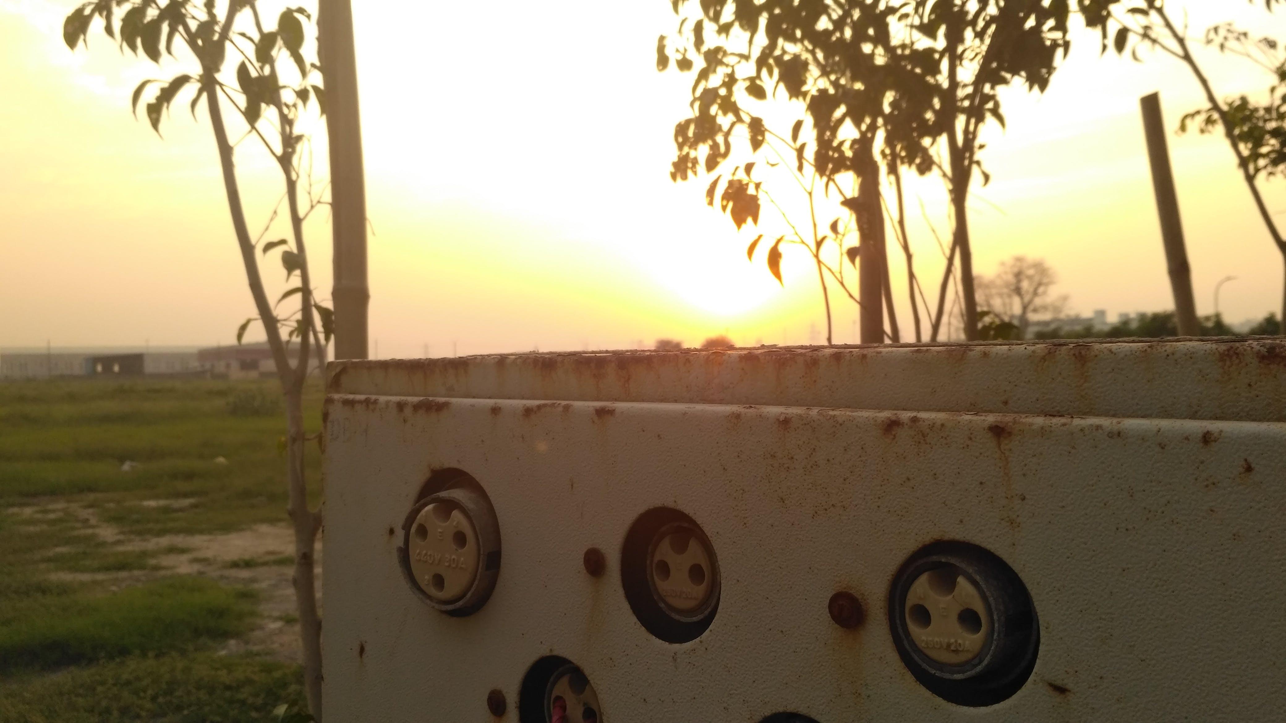 Gratis lagerfoto af rusten, solnedgang