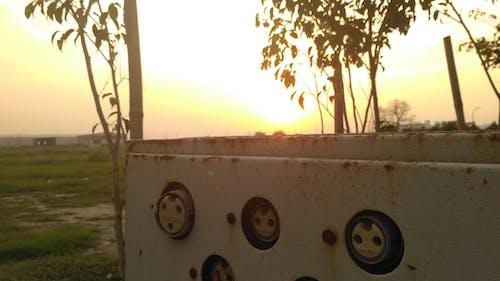 Immagine gratuita di arrugginito, tramonto