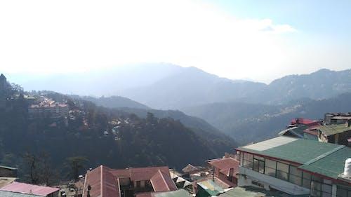 Immagine gratuita di cielo, montagne