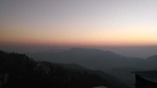 Immagine gratuita di montagne, orizzonte