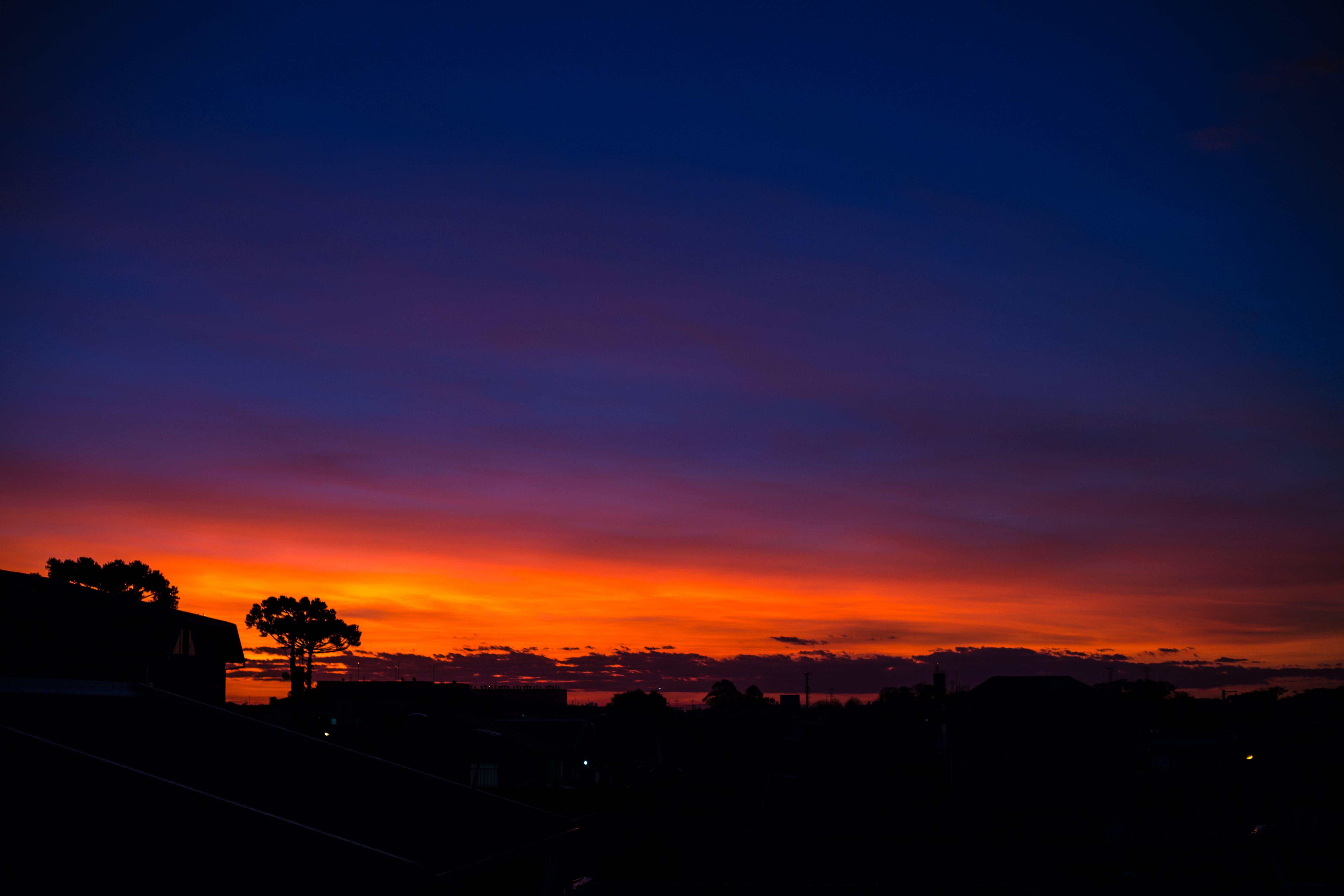天空, 日落 的 免費圖庫相片