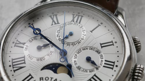 Close-up Photography of Wristwatch