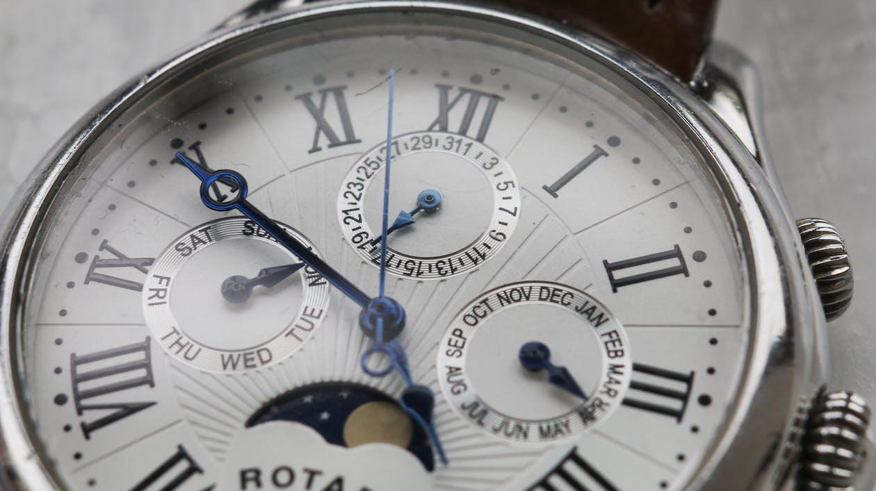 Analogový, čas, ciferník