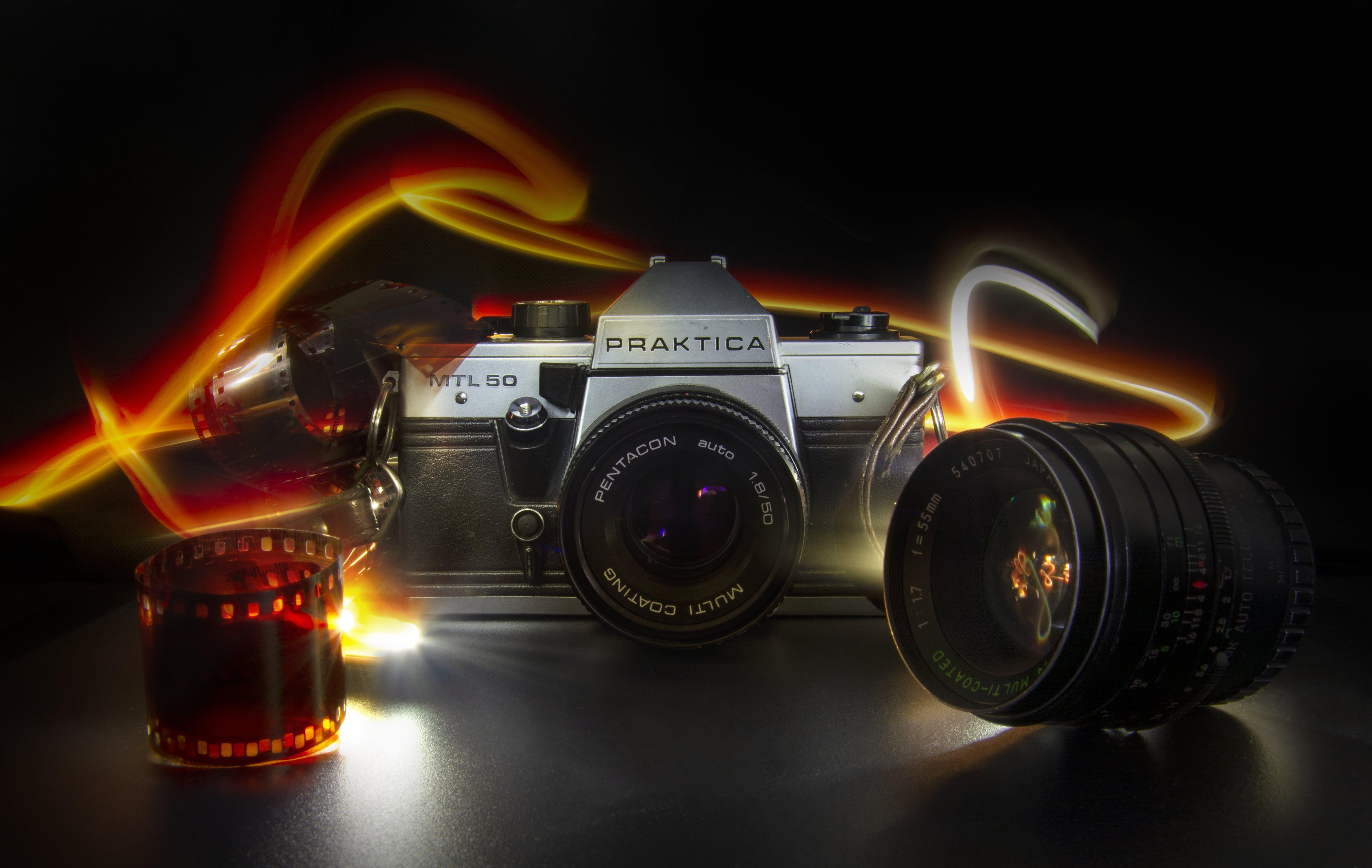 Gratis lagerfoto af pentacon praktica mtl50