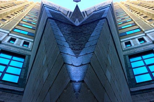Free stock photo of blue, brick, building