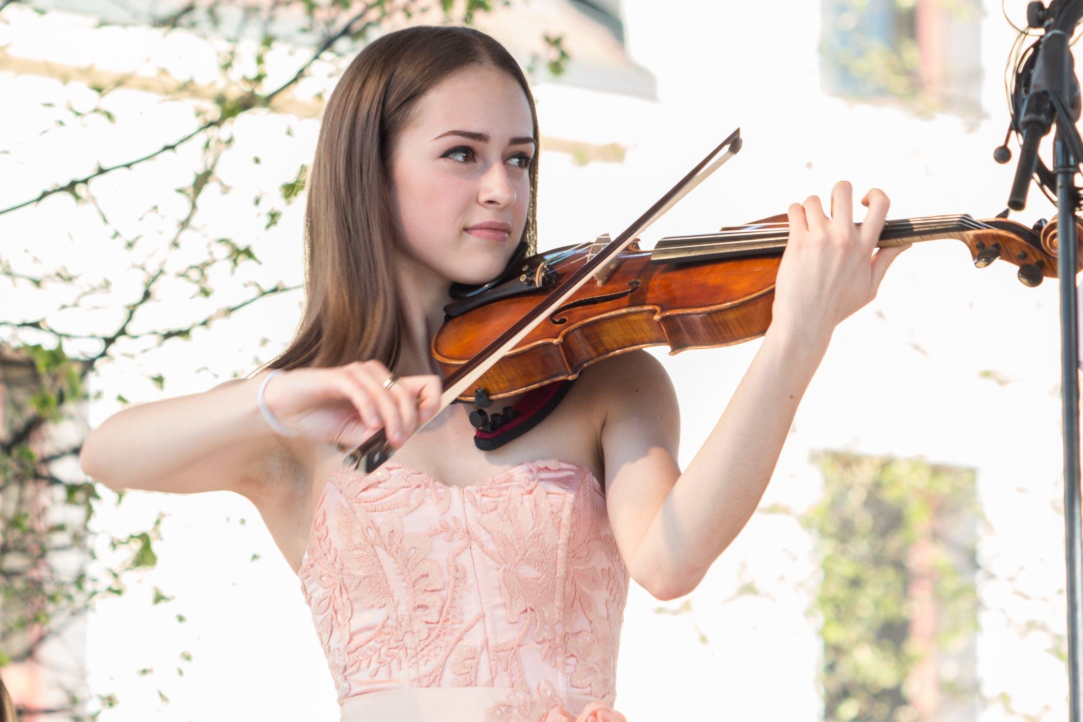 Základová fotografie zdarma na téma houslista