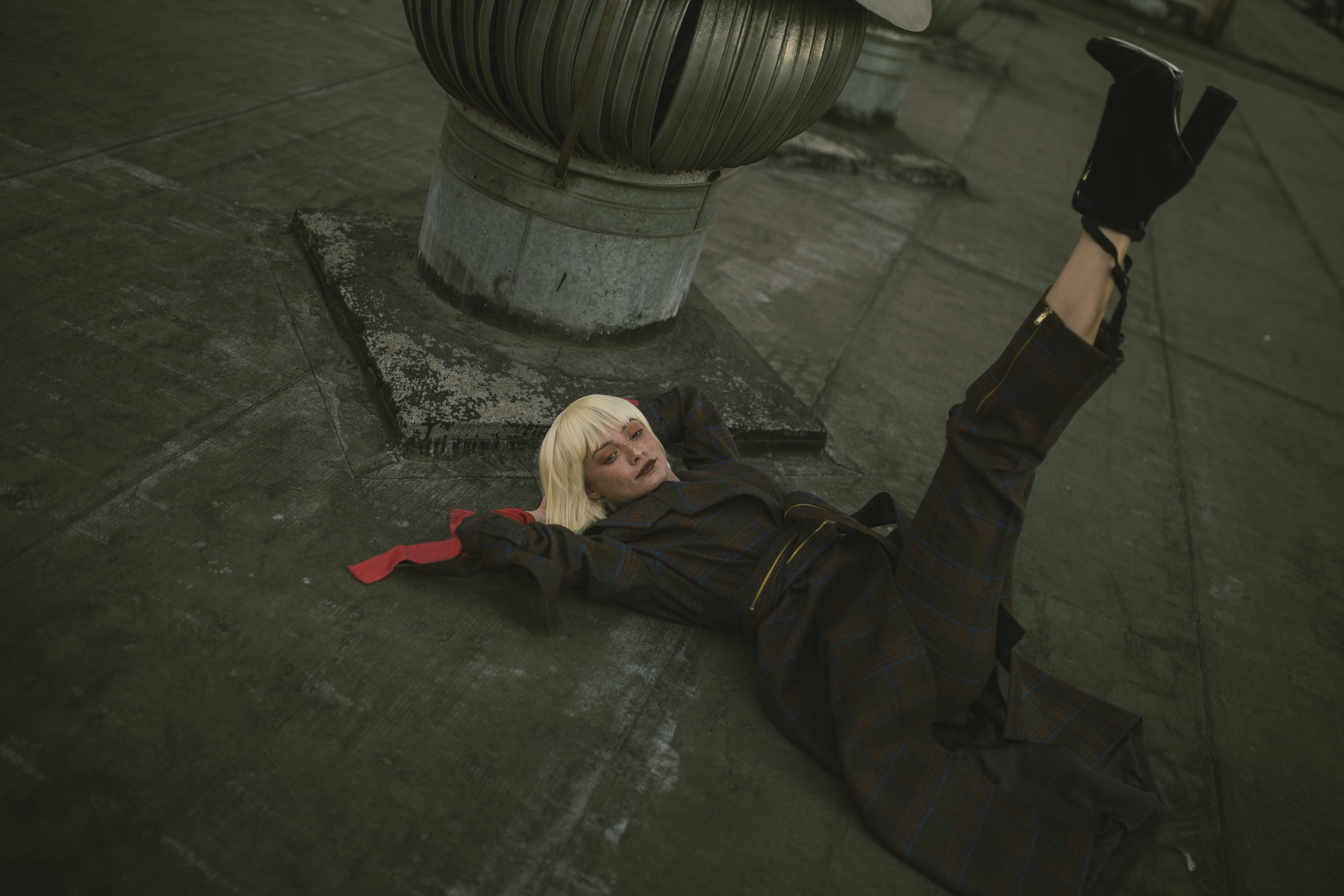 Photo of Woman Laying Down on Floor