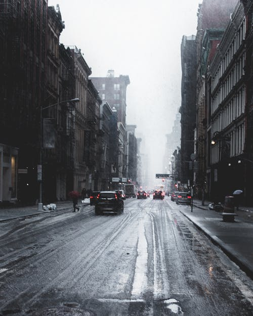 Photography of Wet Roadway