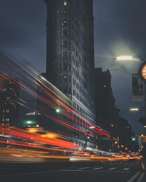 交通, 交通系統, 光, 光線 的 免费素材照片