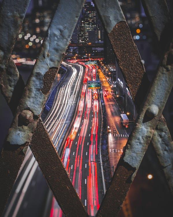 arquitectura, carrer, carretera