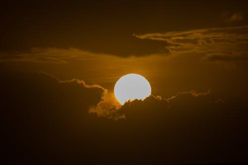 Fotos de stock gratuitas de amanecer, escénico, nubes, nublado