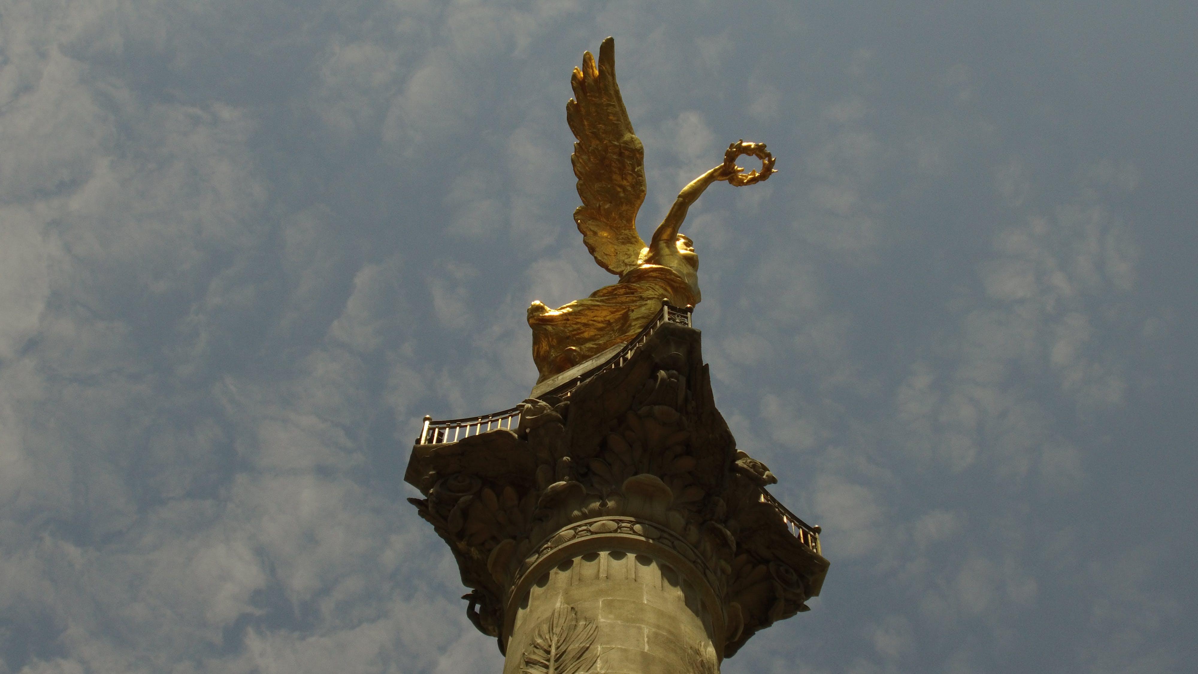 Free stock photo of Angel de la independencia, Ciudad de méxico, escultura