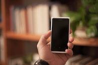 man, person, smartphone