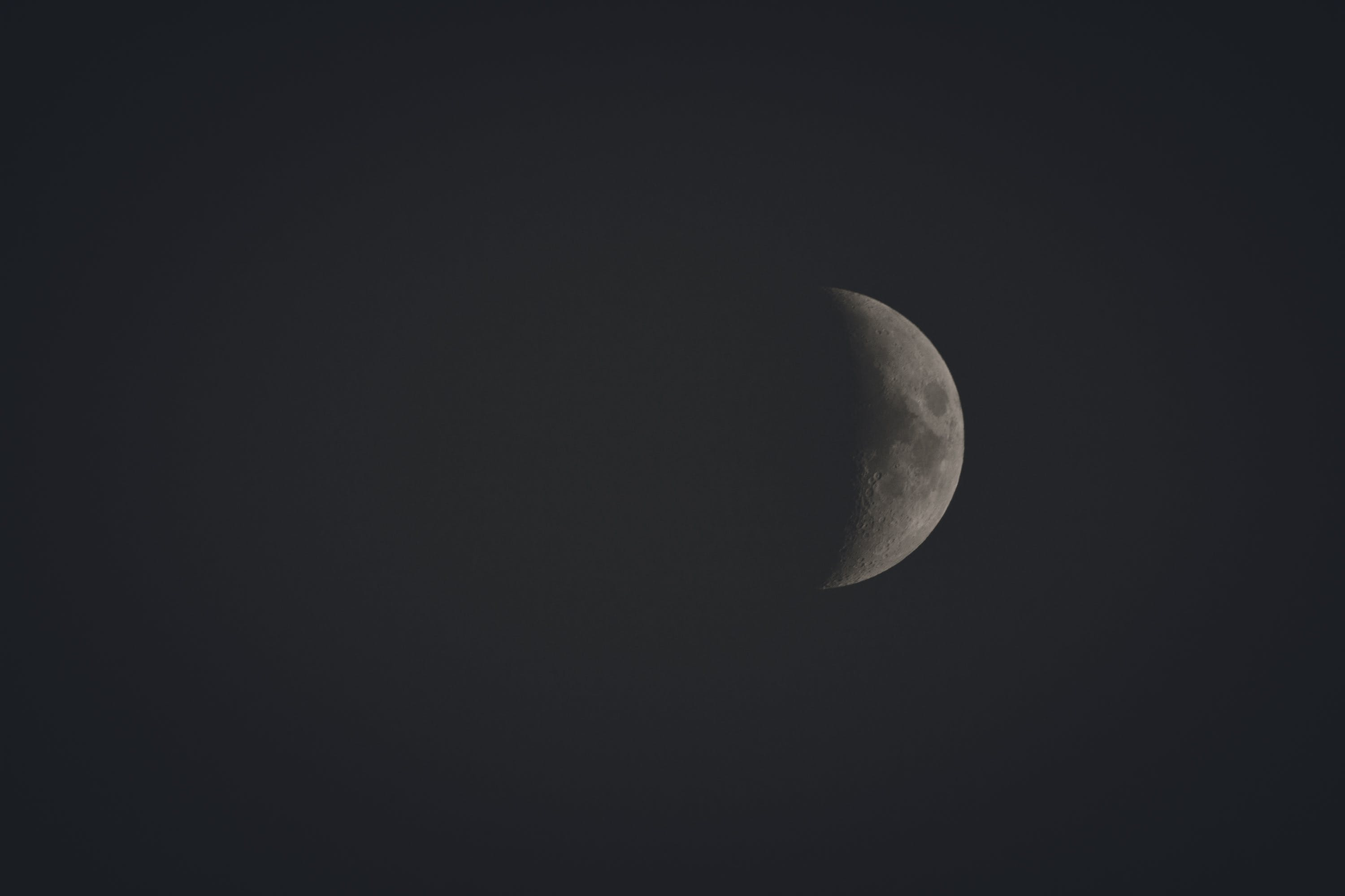 Photo of Crescent Moon