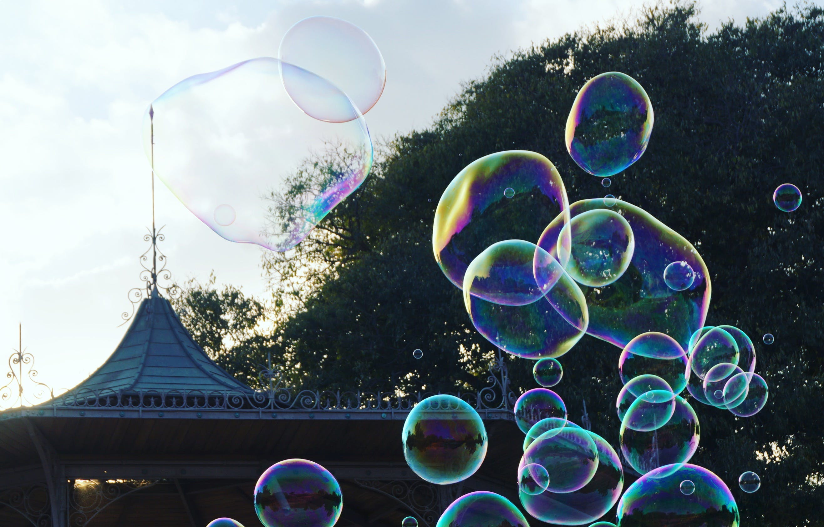 Photography of Bubbles