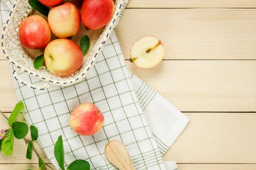 Free stock photo of apple, background, cloth, crate