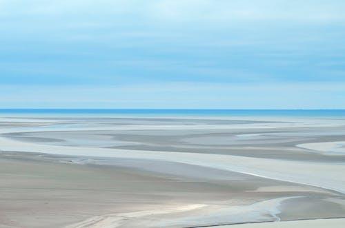 Photos gratuites de barre de sable, ciel, eau, mer
