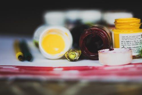 Kostenloses Stock Foto zu behandlung, container, essen, farbe