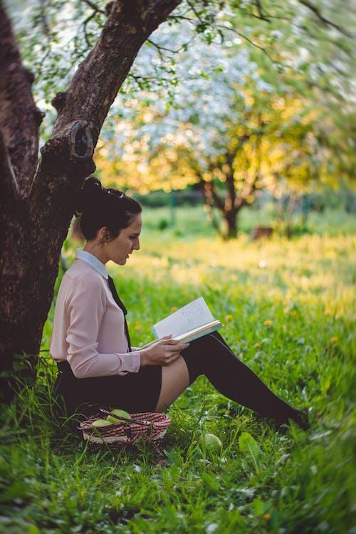 Безкоштовне стокове фото на тему «жінка, навчання, персона, Природа»