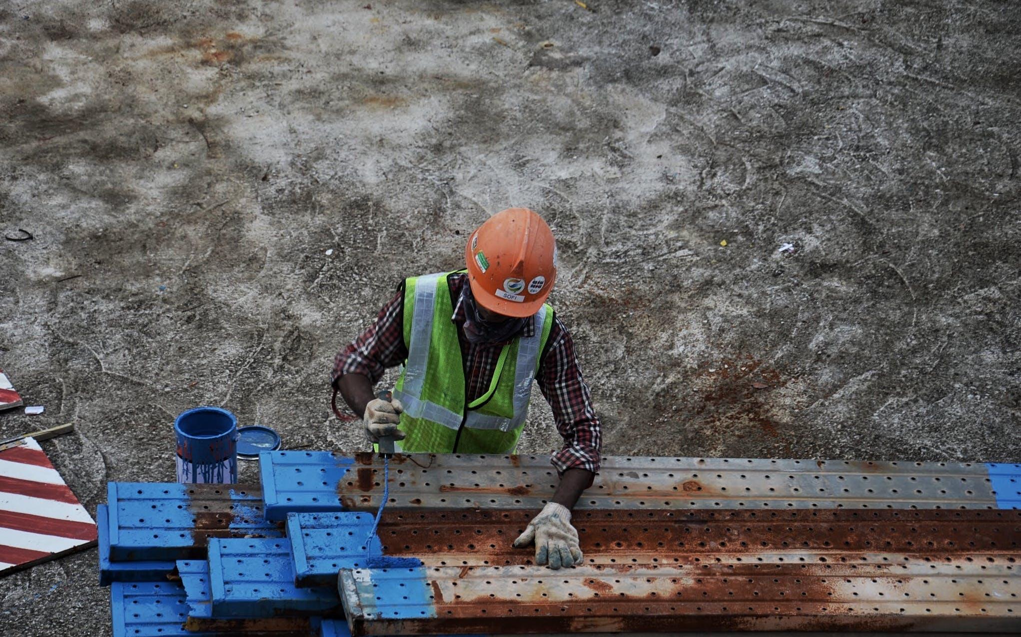 Free stock photo of #construction, #everydaypeople, #gray, #moody