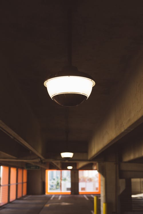 Lighted Ceiling Lamp