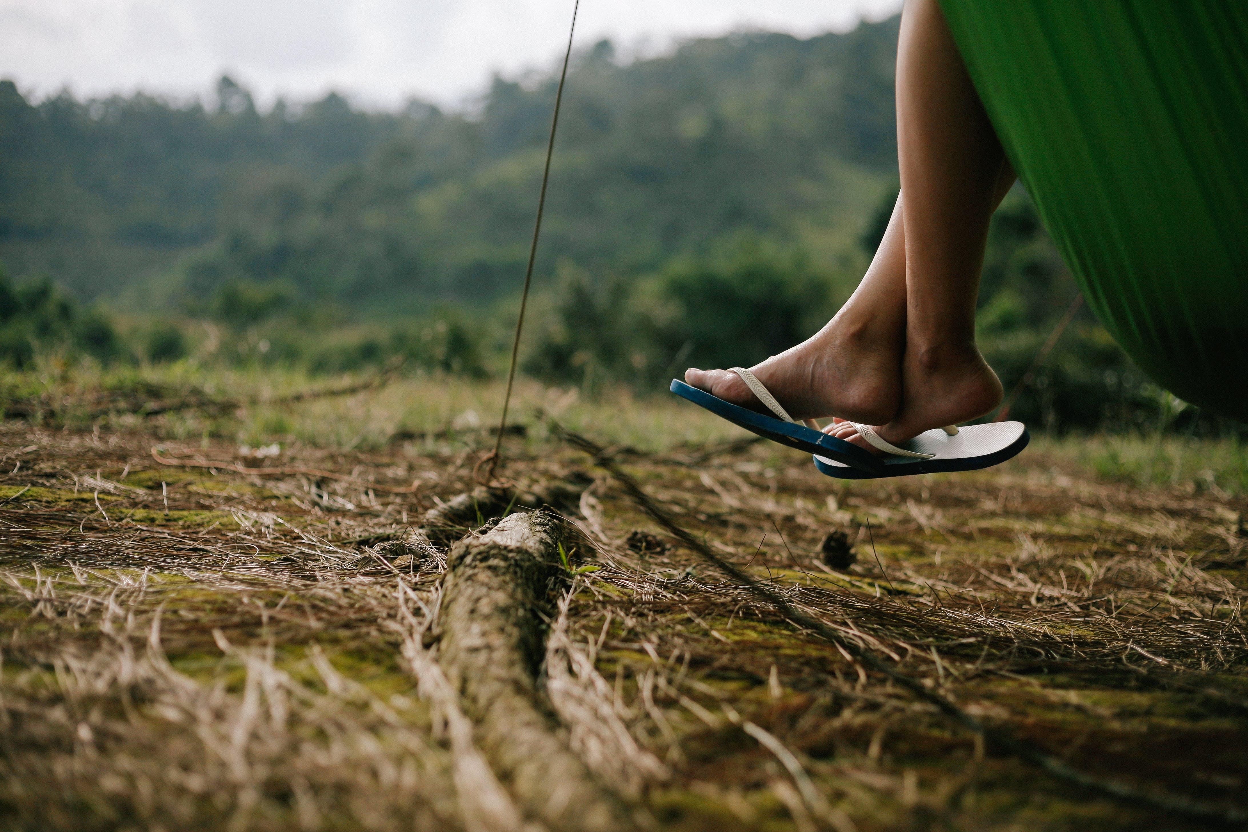 Photos gratuites de chaussons, clairière, détente, herbe