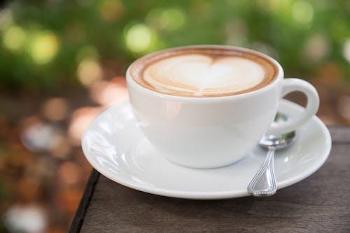 カップ, カフェイン, スプーン, ドリンクの無料の写真素材