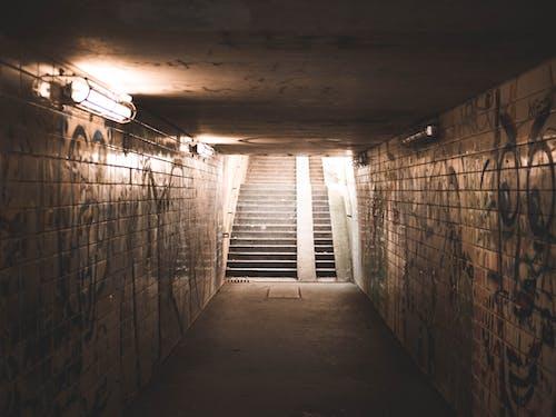 beton, boş, duvar yazısı, duvarlar içeren Ücretsiz stok fotoğraf