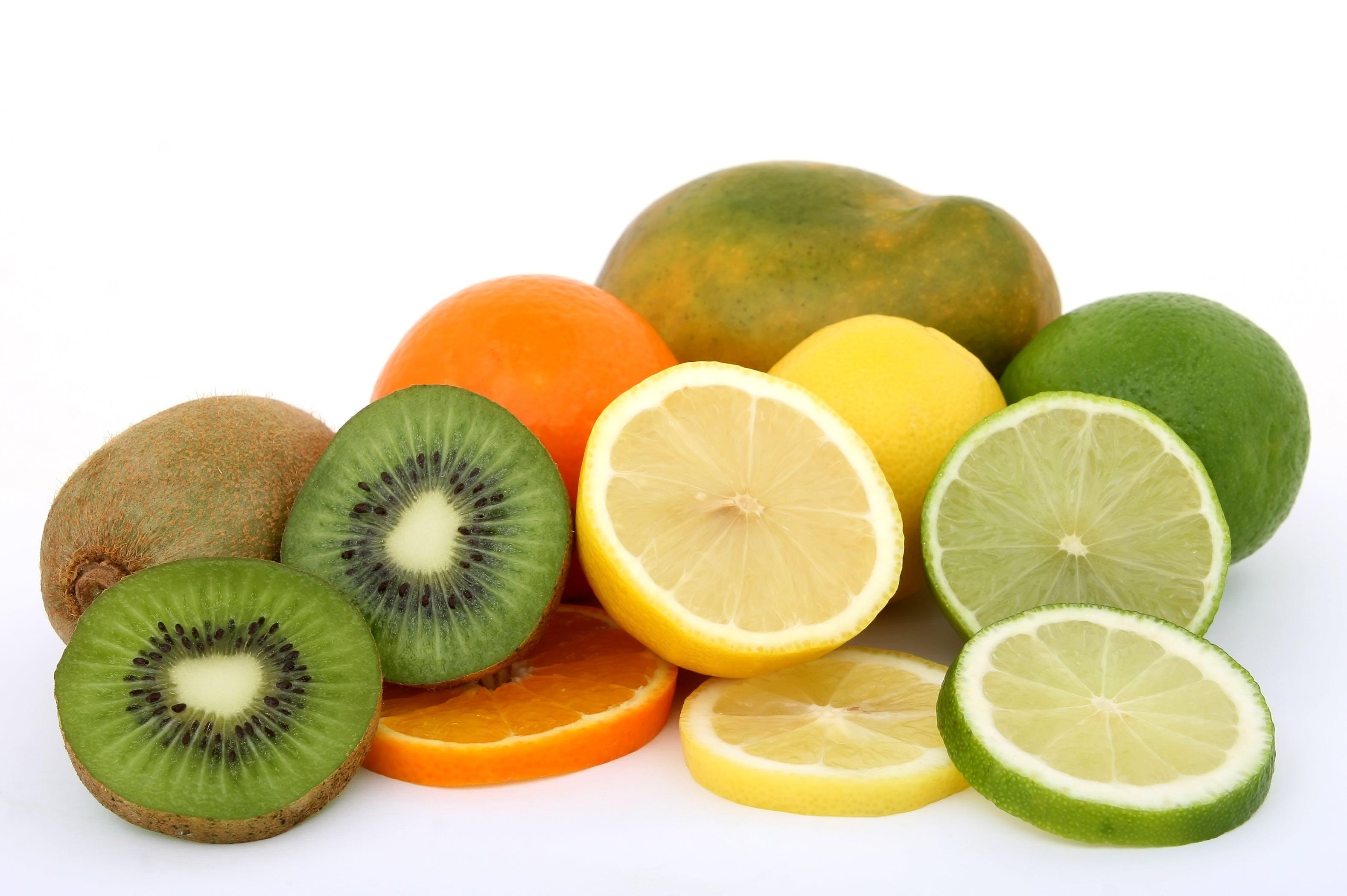 Gratis arkivbilde med appelsin, appelsiner, frukt, kiwi