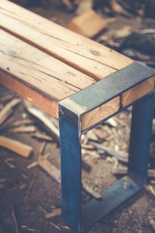 Free stock photo of bench, furniture, wood