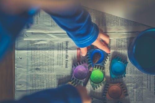 Kostenloses Stock Foto zu aquarelle, bunt, farbe, farbenfroh