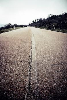 Kostenloses Stock Foto zu straße, reise, asphalt, perspektive