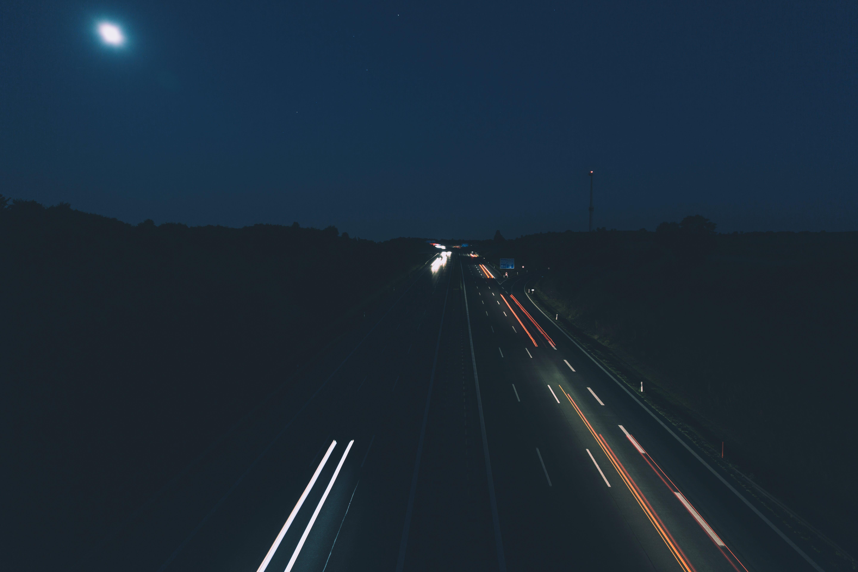Gratis lagerfoto af himmel, lang eksponering, mørk, nat