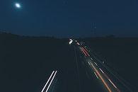 road, sky, lights