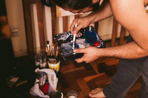 Kostnadsfri bild av arbete, arbetssätt, behållare, blandning