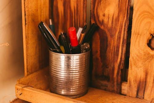 Immagine gratuita di attrezzatura, contenitore, in legno, interni