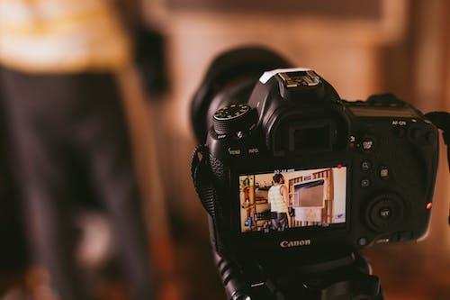 Foto stok gratis analog, berfokus, bukaan, canon