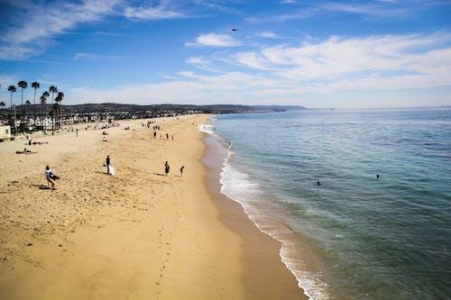 ビーチ, 海洋, 潮, 砂の無料の写真素材