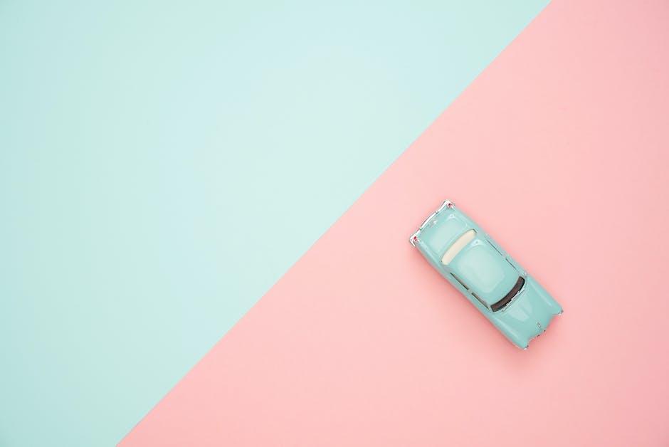 Classic blue coupe die cast model