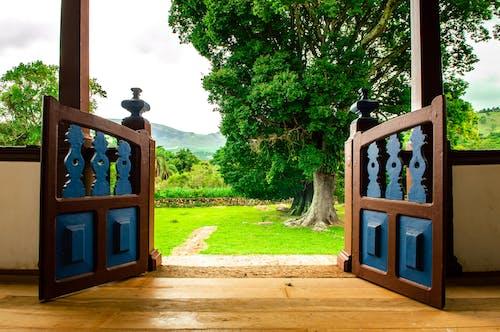 Бесплатное стоковое фото с архитектура, Балкон, дверь, двор