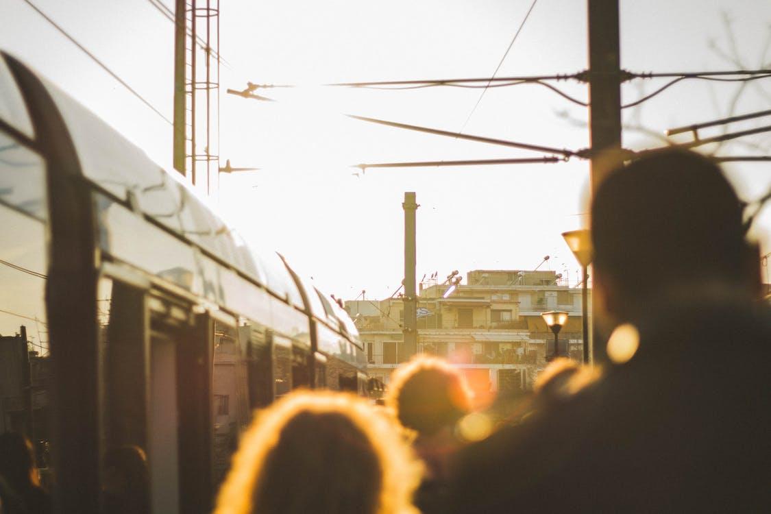 交通系統, 人, 光