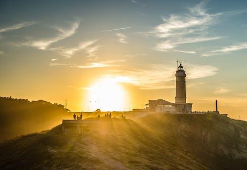 Δωρεάν στοκ φωτογραφιών με amigos, cantabria, puesta de sol, santander
