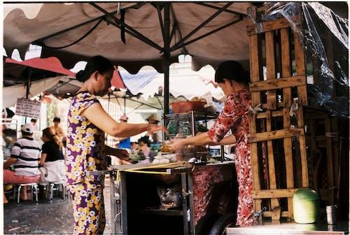 Foto stok gratis cemilan, jajanan jalanan, makanan vietnam, pasar makanan