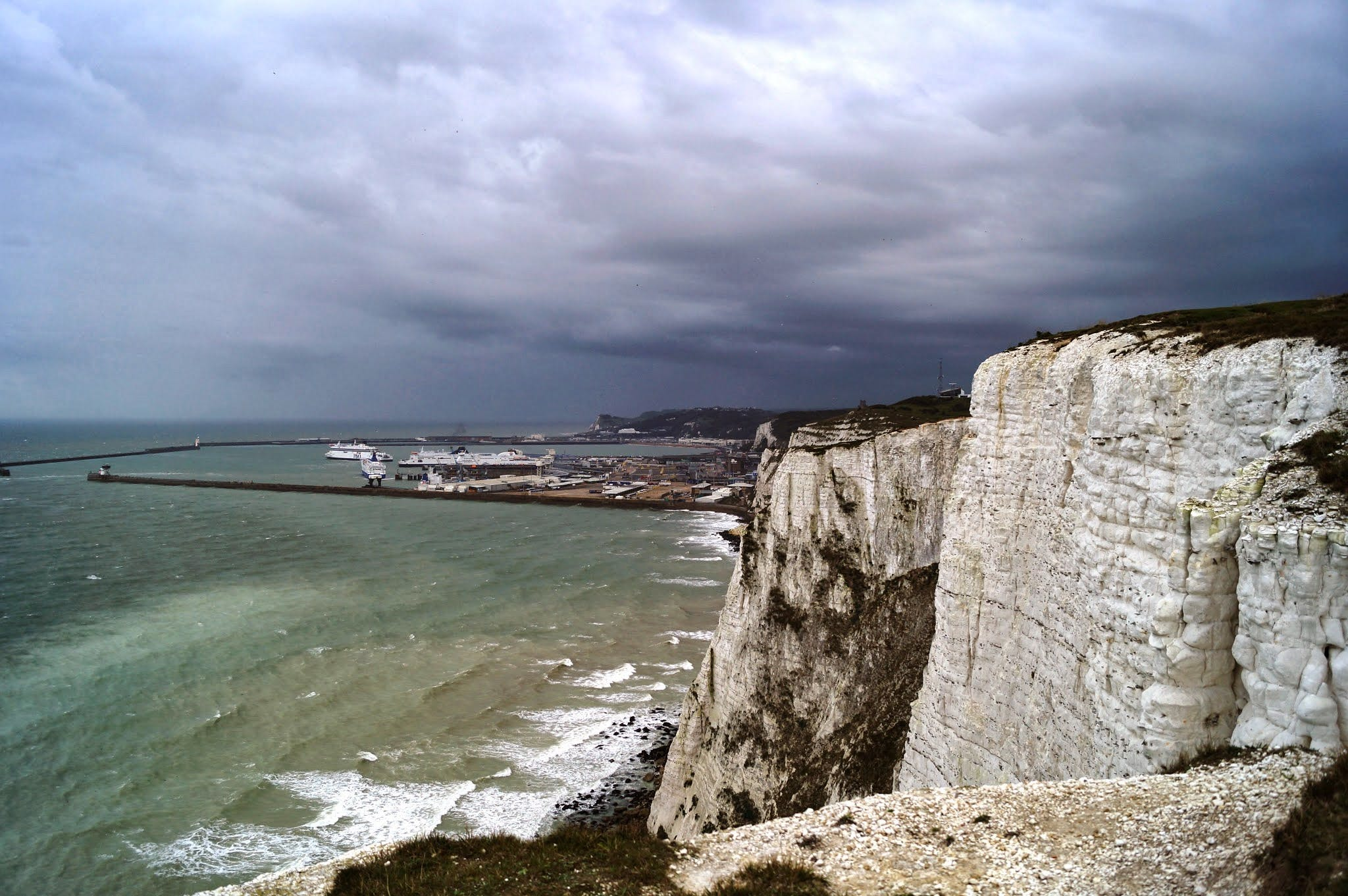 Free stock photo of white cliffs