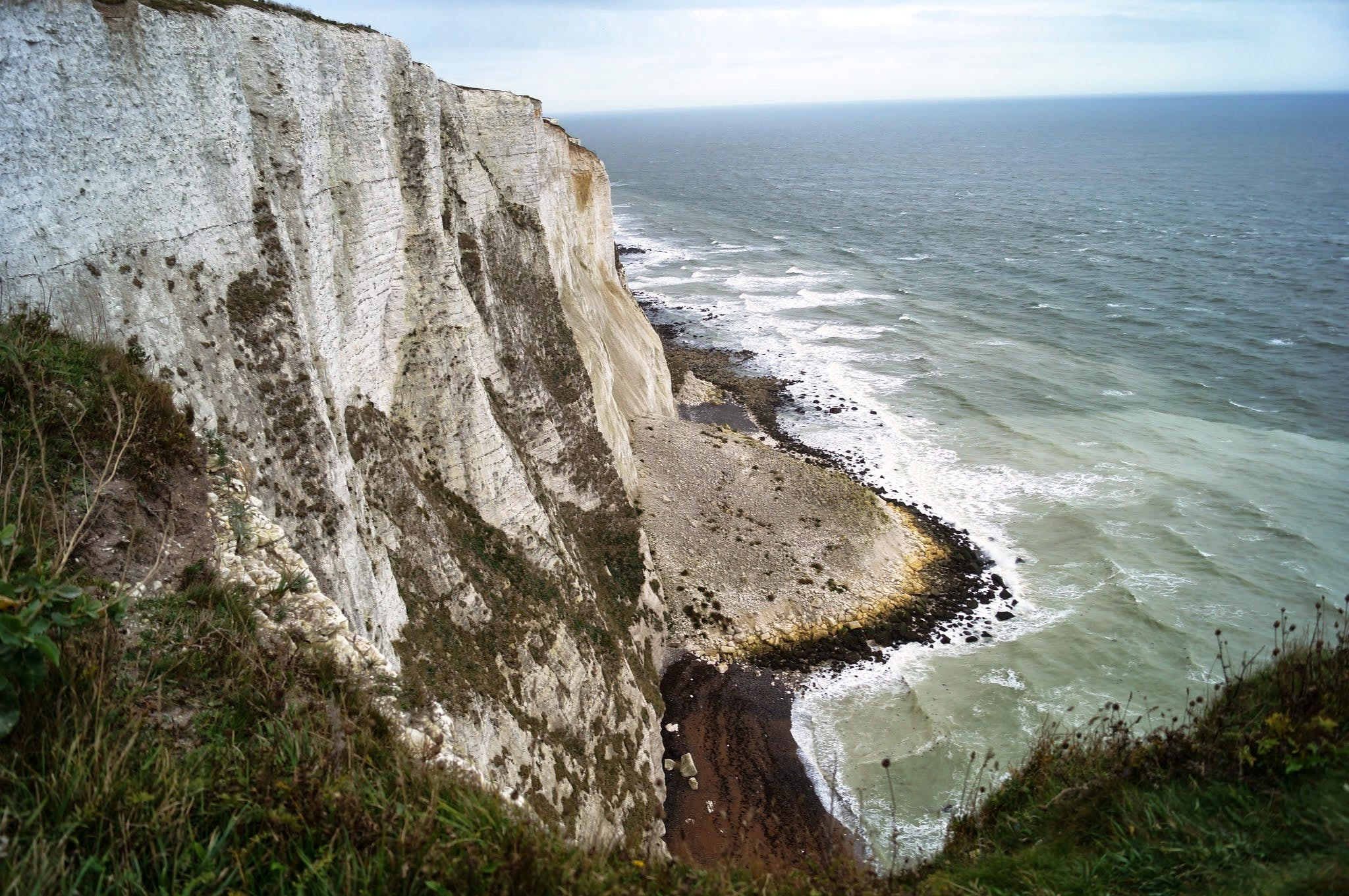 Free stock photo of cliff coast