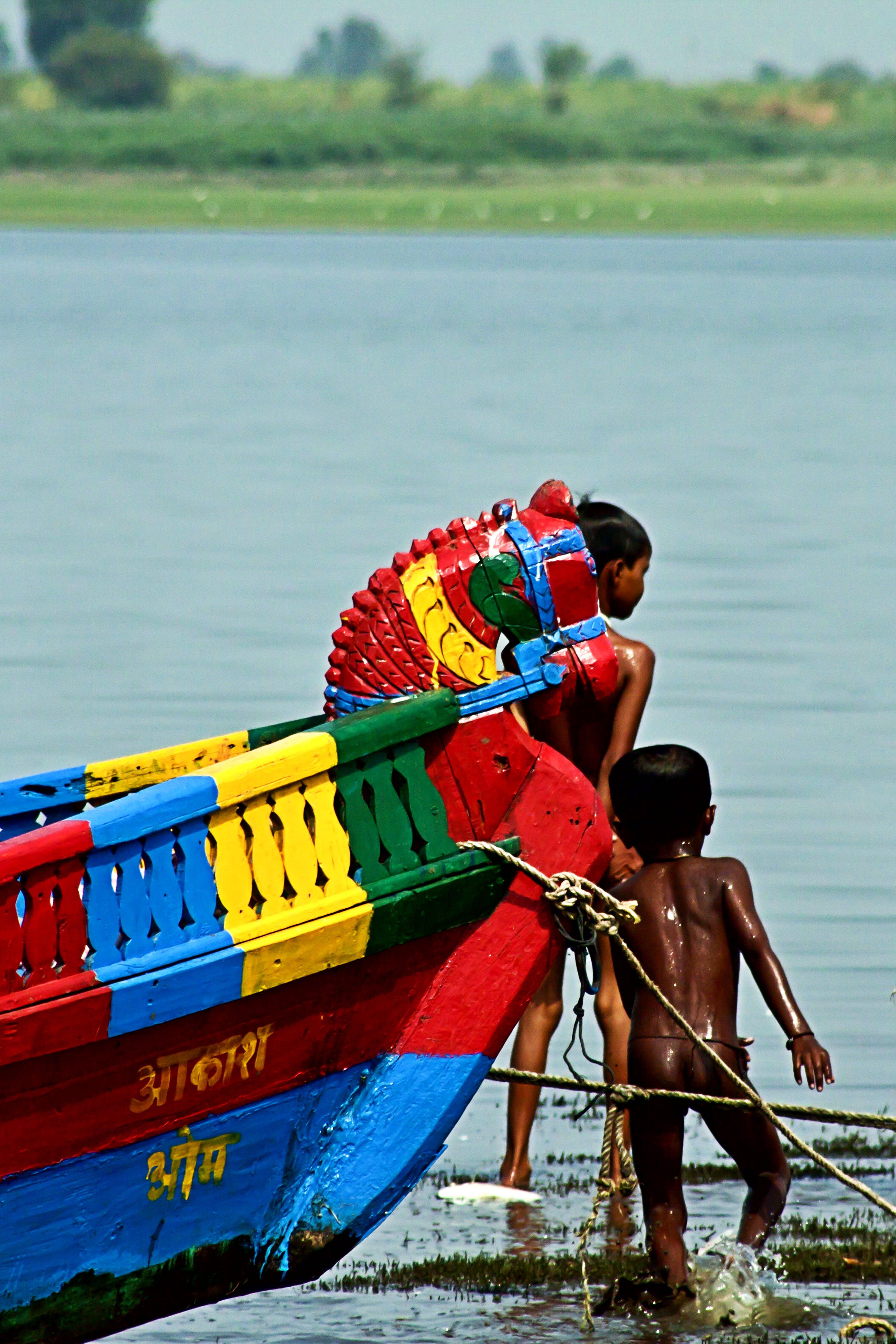 Foto profissional grátis de água, barco